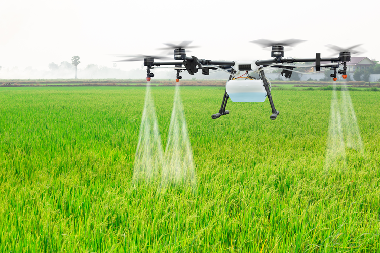 The Future of Agriculture:Drones